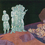 Roerich N.K. (Part 2) - Human affairs (Fragment of painting sketch)