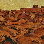 Roerich N.K. (Part 2) - Famagusta # 10 (Sketch of wood)