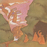 Roerich N.K. (Part 2) - Sketch for the painting