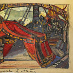 Roerich N.K. (Part 2) - Ship Tristan ( 1st intercourse. embodiment)