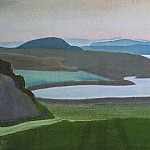 Roerich N.K. (Part 2) - Lake Ladoga. Islands (Karelian landscape)