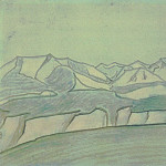 Roerich N.K. (Part 2) - Landscape. Outline
