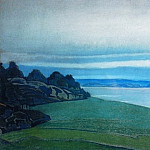 Roerich N.K. (Part 2) - Lake Hyumpola (Sketch)