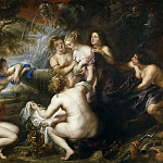 Diana y Calisto, Peter Paul Rubens