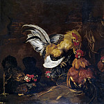 Part 4 Prado Museum - Fyt, Jan -- Riña de gallos