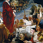 Jordaens, Jacob -- Ofrenda a Ceres, Part 4 Prado Museum