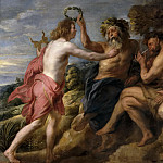 Part 4 Prado Museum - Jordaens, Jacob -- Apolo vencedor de Pan