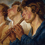 Part 4 Prado Museum - Jordaens, Jacob -- Tres músicos ambulantes