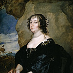 Beatrice, condesa de Oxford, Anthony Van Dyck