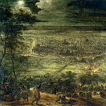 Snayers, Peter -- Ataque nocturno a Lille, Part 4 Prado Museum
