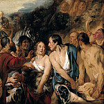 Мелеагр и Аталанта (скетч). 1618. 73х98. М Лихтенштейн, Jacob Jordaens