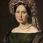 Christian Albrecht Jensen – Cathrine Jensen, née Lorenzen, the artist's Wife, Wearing a Turban, National Gallery of Denmark, Kobenhavn (SMK)