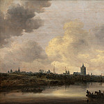 Kobenhavn (SMK) National Gallery of Denmark - Jan van Goyen (1596-1656) - View of the City of Arnhem