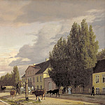 Kobenhavn (SMK) National Gallery of Denmark - Christen Købke (1810-48) - Morning View of Østerbro
