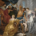 Kobenhavn (SMK) National Gallery of Denmark - Peter Paul Rubens (1577-1640) - The Judgement of Solomon