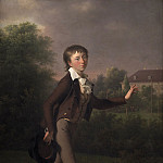 Kobenhavn (SMK) National Gallery of Denmark - Jens Juel (1745-1802) - Running boy. Marcus Holst von Schmidten