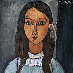 Kobenhavn (SMK) National Gallery of Denmark - Amadeo Modigliani (1884-1920) - Alice