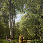Peter Christian Skovgaard – A Beech Wood in May near Iselingen Manor, Zealand, National Gallery of Denmark, Kobenhavn (SMK)