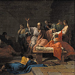 Kobenhavn (SMK) National Gallery of Denmark - Jean Francois Pierre Peyron (1744-1814) - The Death of Socrates