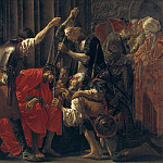 Hendrick ter Brugghen – Christ Crowned with Thorns, National Gallery of Denmark, Kobenhavn (SMK)