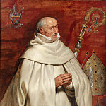 Kobenhavn (SMK) National Gallery of Denmark - Rubens, Peter Paul (1577-1640) - Matthaeus Yrsselius (1541-1629), Abbot of Sint-Michiel's Abbey in Antwerp