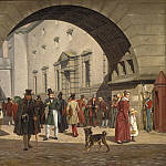 Kobenhavn (SMK) National Gallery of Denmark - Martinus Rørbye (1803-48) - The Prison of Copenhagen