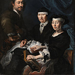 The Artist with his Family, Karel van Mander