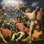 Cornelis Cornelisz van Haarlem – The Fall of the Titans , National Gallery of Denmark, Kobenhavn (SMK)