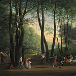 Kobenhavn (SMK) National Gallery of Denmark - Jens Juel (1745-1802) - The Dancing Glade at Sorgenfri