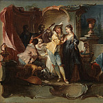 Kobenhavn (SMK) National Gallery of Denmark - Johann Wolfgang Baumgartner (1702-1761) - The Prodigal Son Living with Harlots