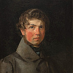Kobenhavn (SMK) National Gallery of Denmark - Christen Købke (1810-48) - Self-Portrait