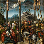 Kobenhavn (SMK) National Gallery of Denmark - Lucas Cranasch the Elder (c. 1472- 1553) - The Crucifixion