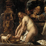 Kobenhavn (SMK) National Gallery of Denmark - Jacob Jordaens (1593-1678) - Susanna and the Elders