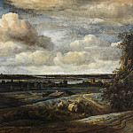 Kobenhavn (SMK) National Gallery of Denmark - Philips Koninck (1619-88) - Dutch Panorama Landscape with a River