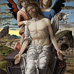 Kobenhavn (SMK) National Gallery of Denmark - Andrea Mantegna (1430/41-1506) - Christ as the Suffering Redeemer