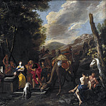 Domenico Gargiulo – Rebecca and Eliezer at the Well, National Gallery of Denmark, Kobenhavn (SMK)