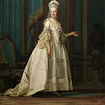 Vigilius Eriksen – Dowager Queen Juliane Marie of Denmark, National Gallery of Denmark, Kobenhavn (SMK)