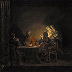 Kobenhavn (SMK) National Gallery of Denmark - Rembrandt (Workshop of) (1606–1669) - The Supper at Emmaus