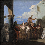 Kobenhavn (SMK) National Gallery of Denmark - Giovanni Domenico Tiepolo (1696-1770) - The Triumph of Pulcinella