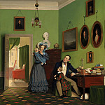 Kobenhavn (SMK) National Gallery of Denmark - Wilhelm Bendz (1804-28) - The Waagepetersen Family