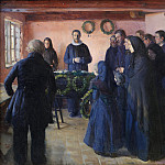 Kobenhavn (SMK) National Gallery of Denmark - Anna Ancher (1859-1935) - A Funeral