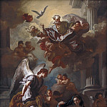 Kobenhavn (SMK) National Gallery of Denmark - Francesco Solimena (1657-1747) - The Annunciation