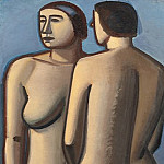 Kobenhavn (SMK) National Gallery of Denmark - Vilhelm Lundstrøm (1893-1950) - Two Female Nudes