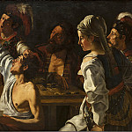 Theodoor Rombouts – Card and Backgammon Players, National Gallery of Denmark, Kobenhavn (SMK)