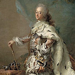 Kobenhavn (SMK) National Gallery of Denmark - Carl Gustaf Pilo (1711-93) - Frederik V in his Anointing Robes