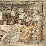 Kobenhavn (SMK) National Gallery of Denmark - Jacob Jordaens (1593-1678) - Like to Like