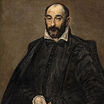 Kobenhavn (SMK) National Gallery of Denmark - El Greco (1541-1614) - Portrait of a Man