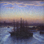 Prins Eugen – Ships in Winter, National Gallery of Denmark, Kobenhavn (SMK)