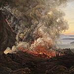 Kobenhavn (SMK) National Gallery of Denmark - Johan Christian Dahl (1788-1857) - Eruption of the Volcano Vesuvius 1820