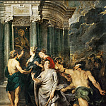 Peter Paul Rubens -- Medici Cycle: Conclusion of Peace at Angers, August 10, 1620, Part 1 Louvre